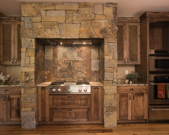 Custom Kitchen Interior Design Pictures Designing Kitchen Kitchens French Remodel Inspiration House Designs Decorating Ideas Kitchen Designs For Mountain Homes Stone Wall Wooden Cabinet Finest Mountain House Design Interior; Kitchen Design