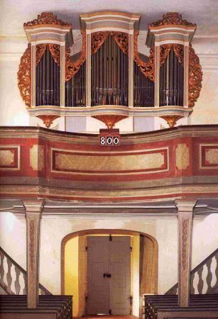 Evangelische Kirche Lebusa Gottfried Silbermann 1727