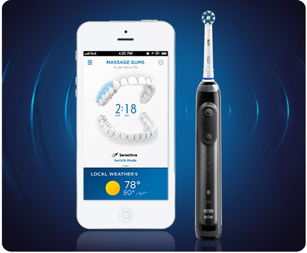 Oral B Genius Pro 8000 Rechargeable Electric Toothbrush Cuidado Personal