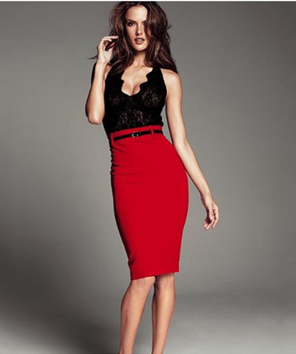 Red Pencils Skirt | My clothes | Pinterest | Skirts, Pencil skirt ...