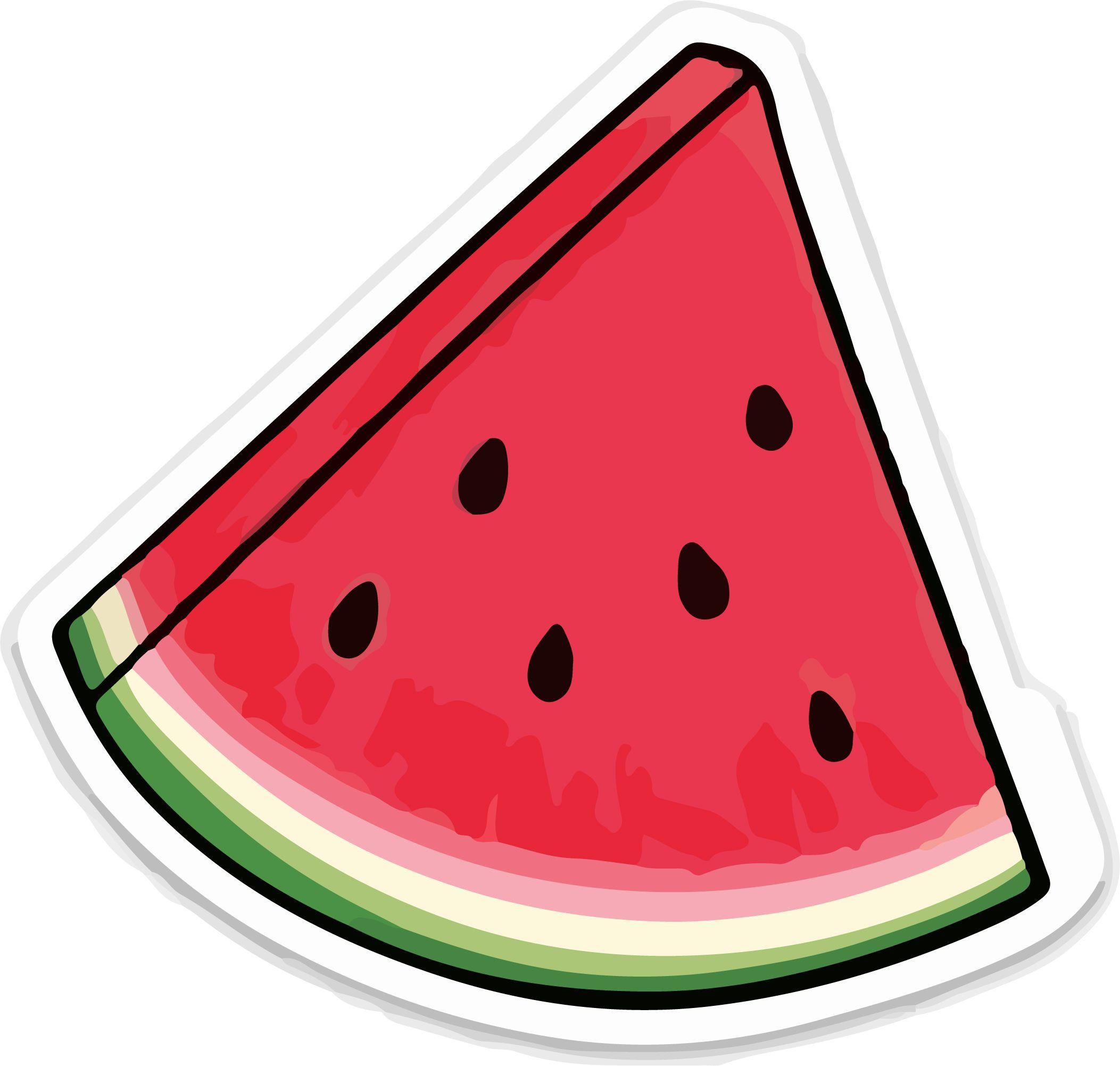 Sandia Sticker Dibujos De Sandias Pegatinas Bonitas Sandias Tumblr