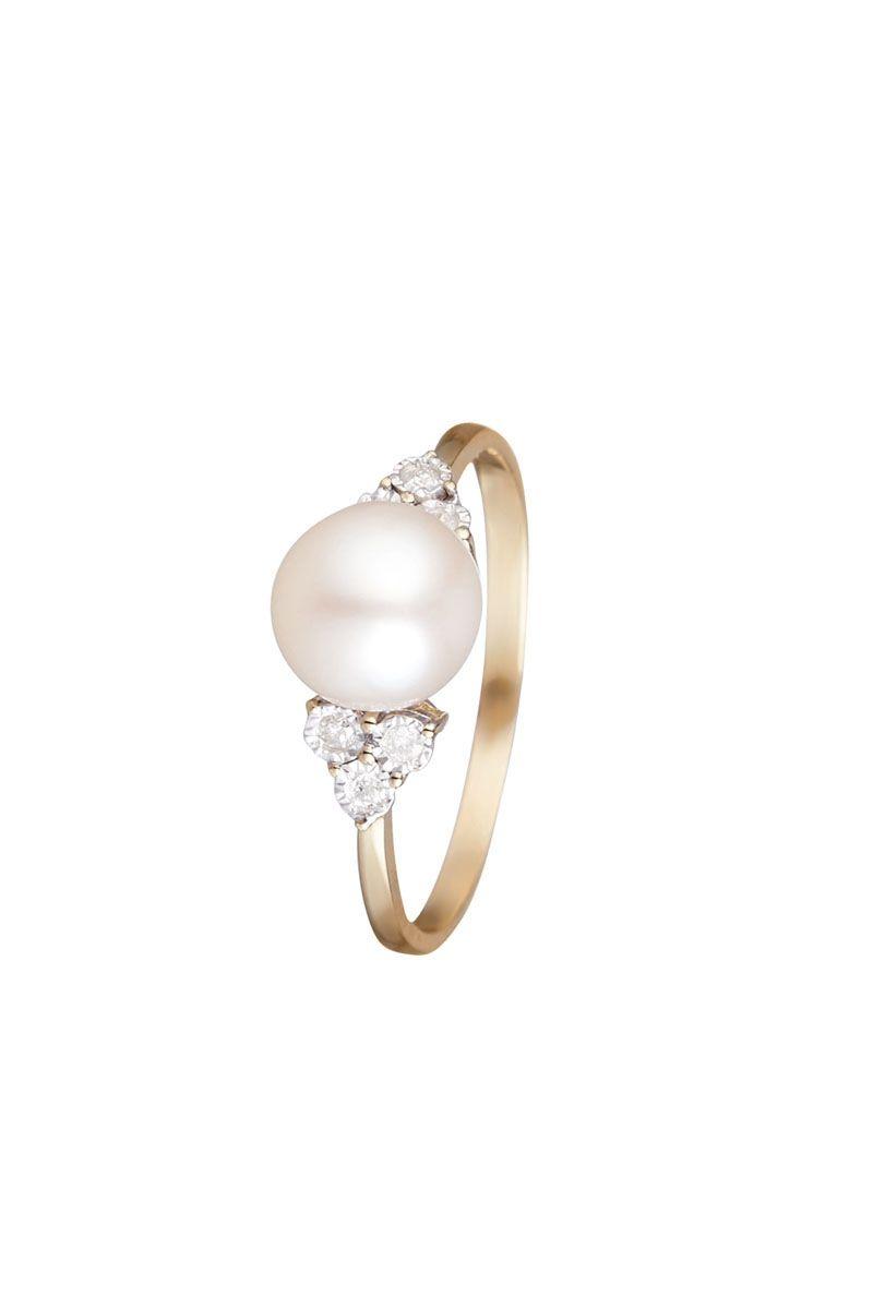 0b3ee03c9fc Vente Le Diamantaire   21666   Collection intemporelle   Bagues - Or et  pierres précieuses   Bague Triangle   Pearl - Or jaune
