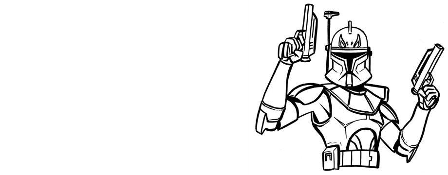 Draw Clone Captain Rex | A big 9 for Jcnb | Pinterest | Star Wars ...