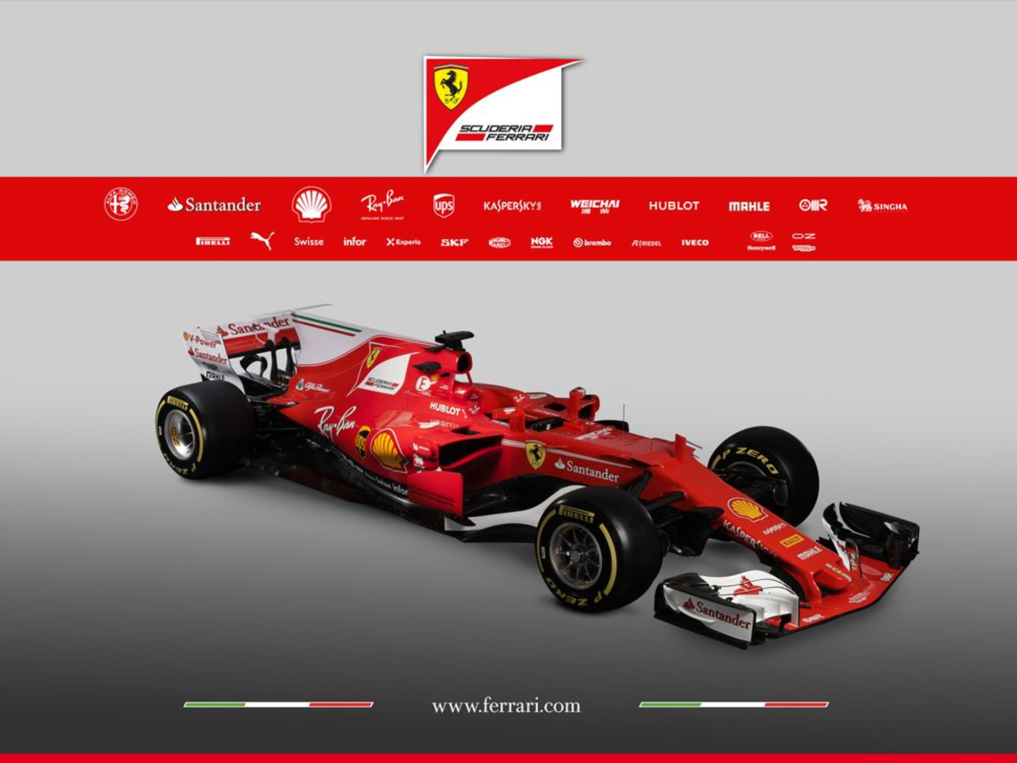 Ferrari Race Car For Season Formule Season
