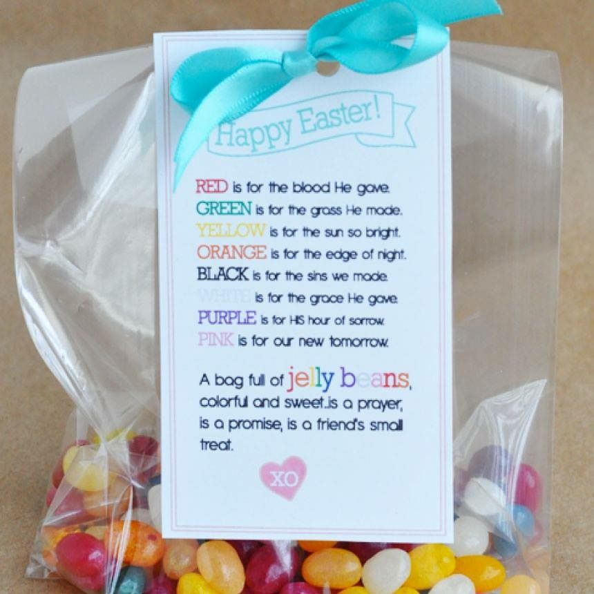 This would be such a cute gift to give to paisleys class paisley simple but sweet easter treat jelly beans jelly bean poem perfect for a friend kids treat and more negle Choice Image