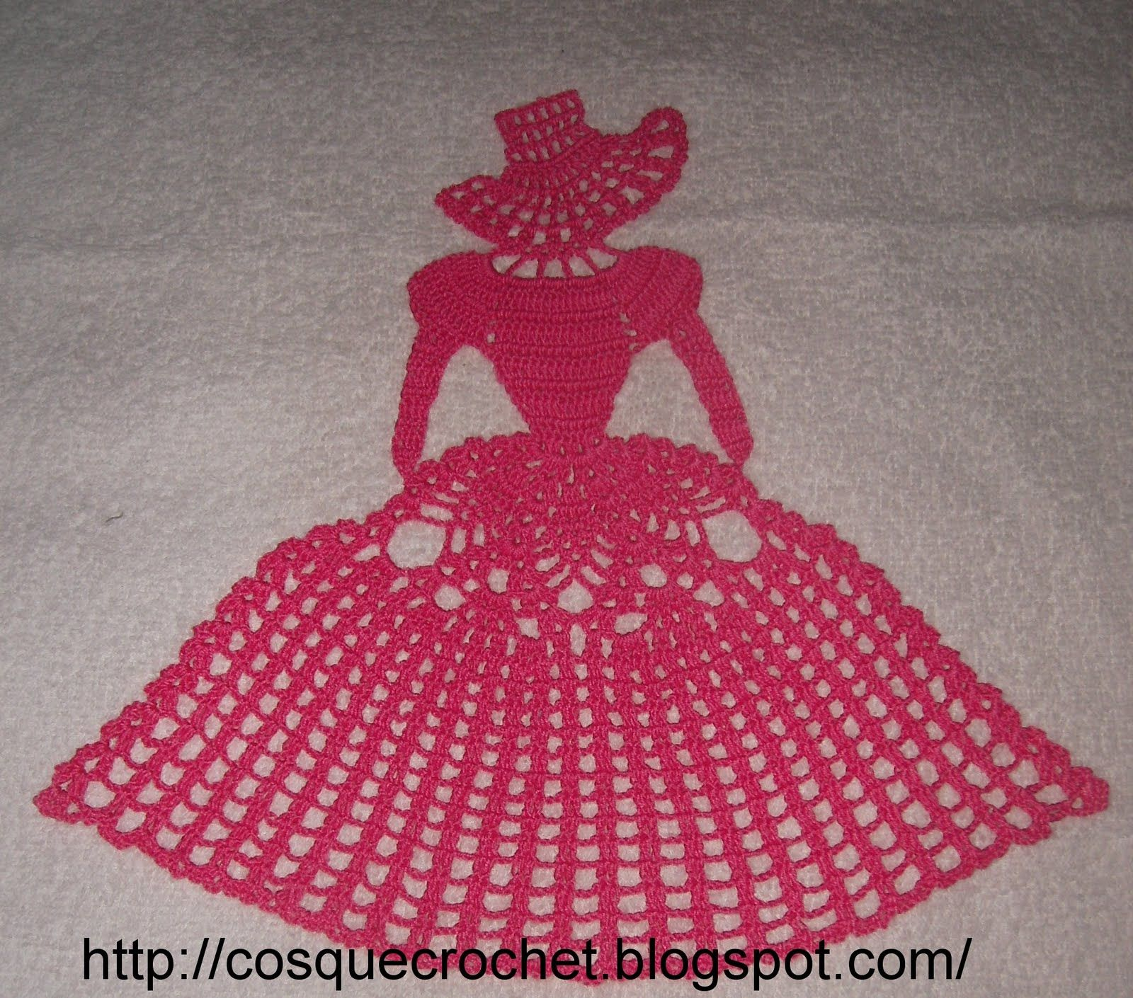 Towel/pillow doll ♥LCD♥ with diagram | Crochet y tejido ...