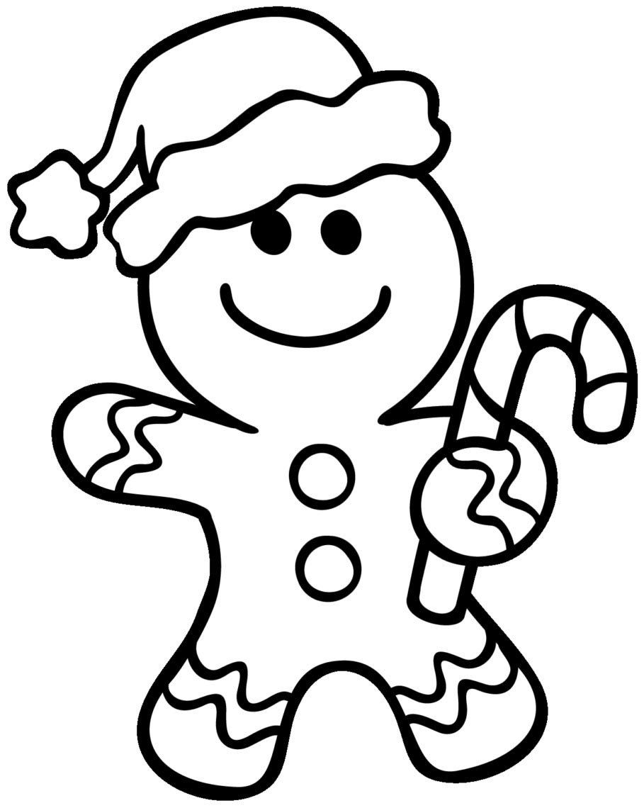 Gingerbread Man Coloring Page Unique Coloring Pages House ...