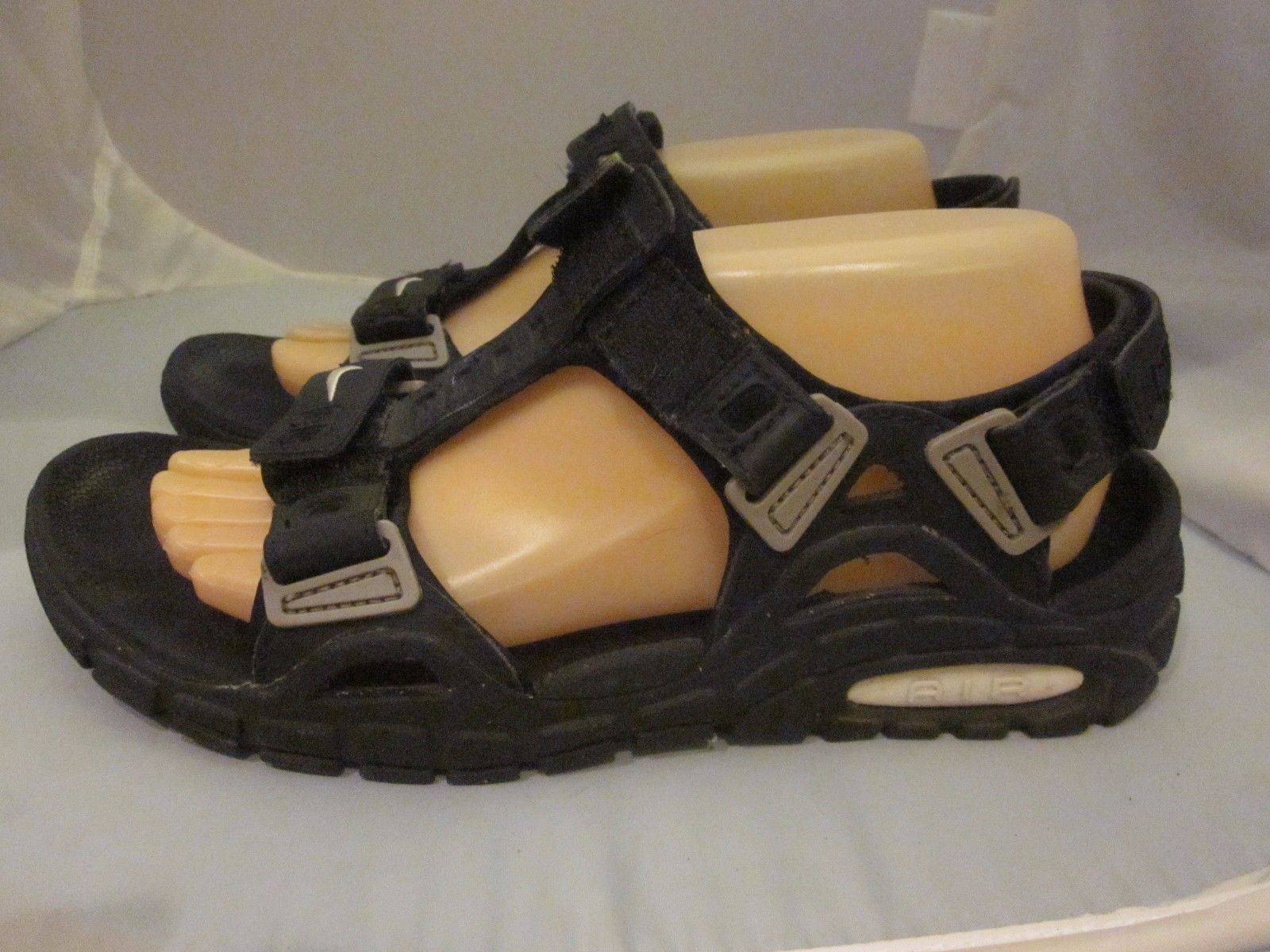 0a4d8161db84f8 Image result for NIKE ACG Air Deschutz Sandals Shoes Walking Hiking Trail  Leather Black
