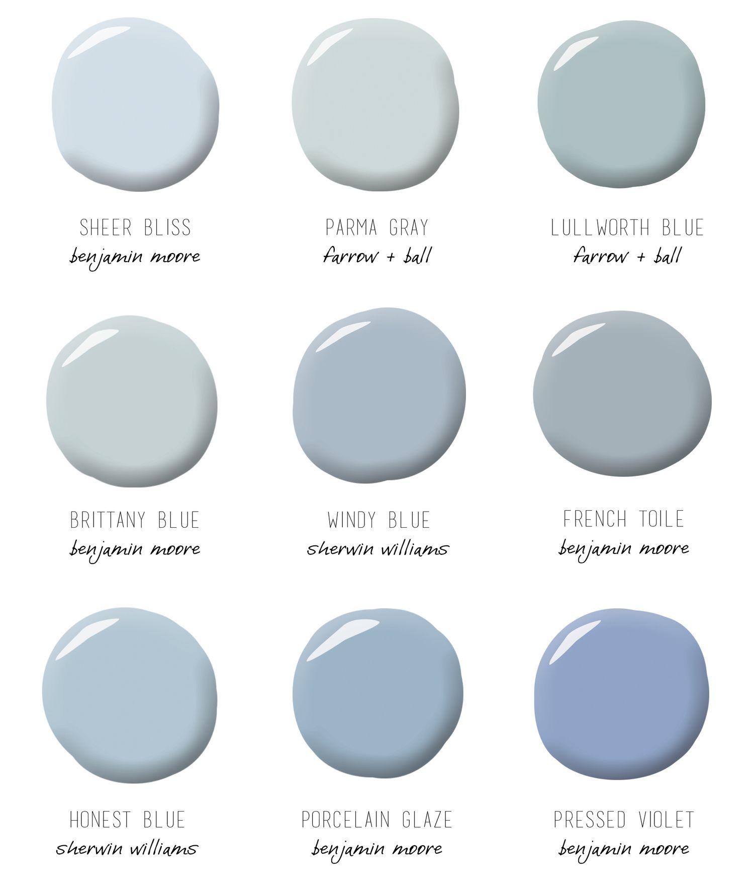Pin De Ldm En B E B E Blue Gray Paint Blue Bedroom Decor