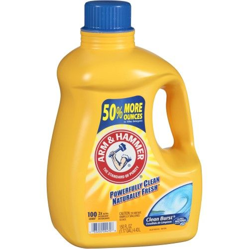 Arm Hammer Ultra Laundry Detergent Clean Burst 100 Loads With