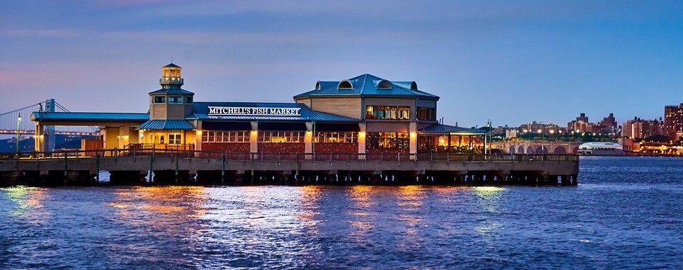Dining upriver at mitchells fish market in edgewater
