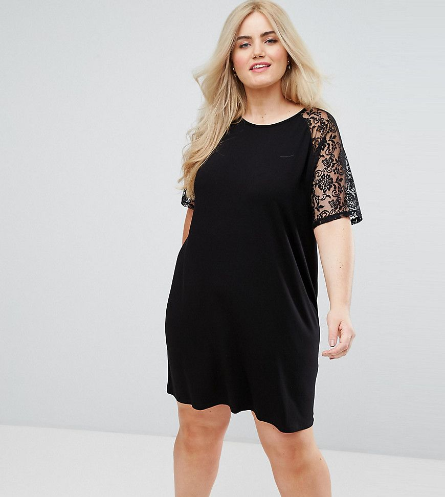 Black Asos Curve Cotton Dress For Woman At Best Price Compare Dresses Prices From Online S Like Wossel Global