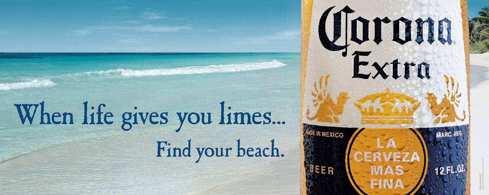 Corona Extra: Life lime #corona #ad #print   Advertising ...