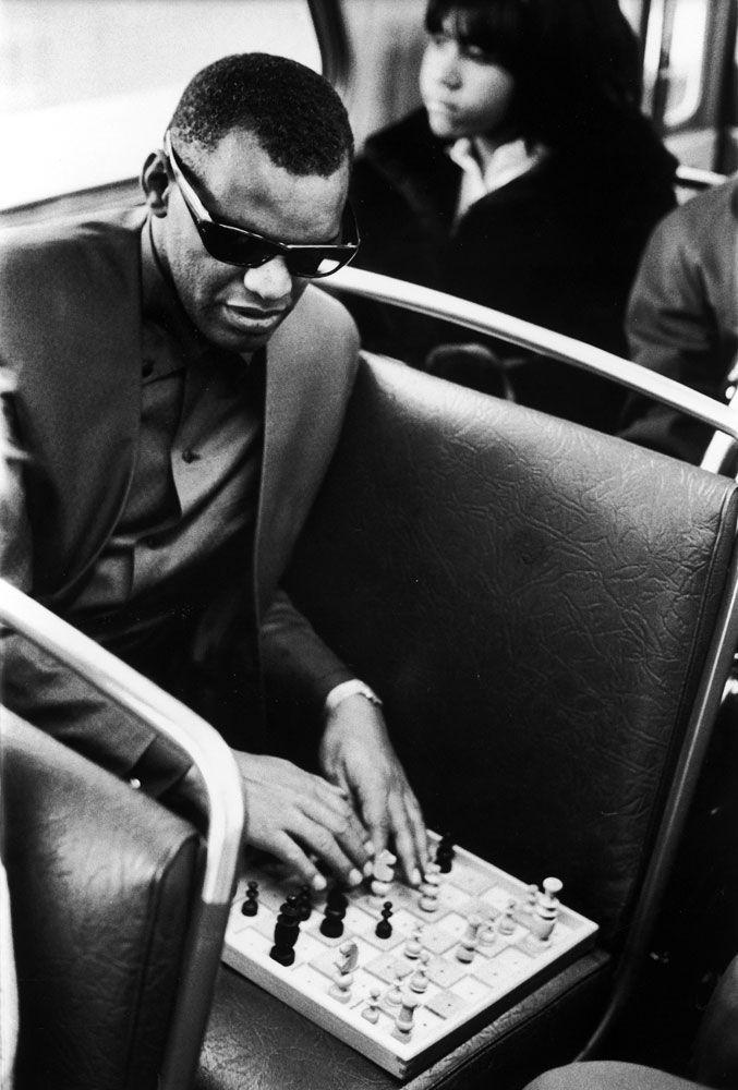 Ray Charles: Rare and Classic Photos of an American Genius, 1966, via LIFE.com