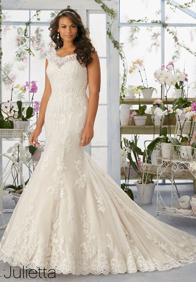25 Best Curvy Wedding Dresses for Plus-Size Brides | Wedding dress ...