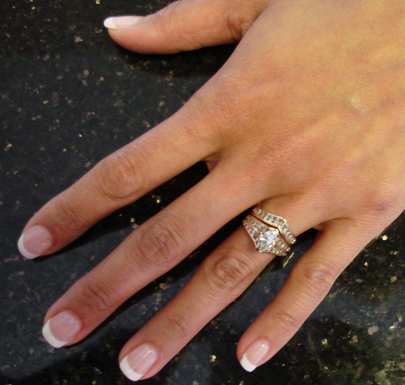 natural french nails