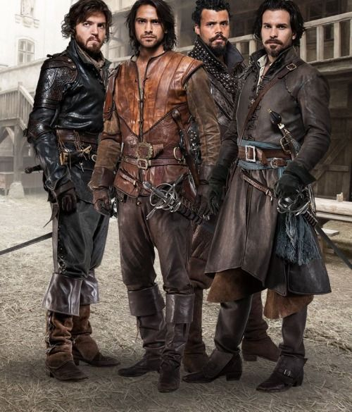 The Musketeers | Series 2 airs 9pm Fridays on BBC One starting on January 2, 2015. New season 2 pic!