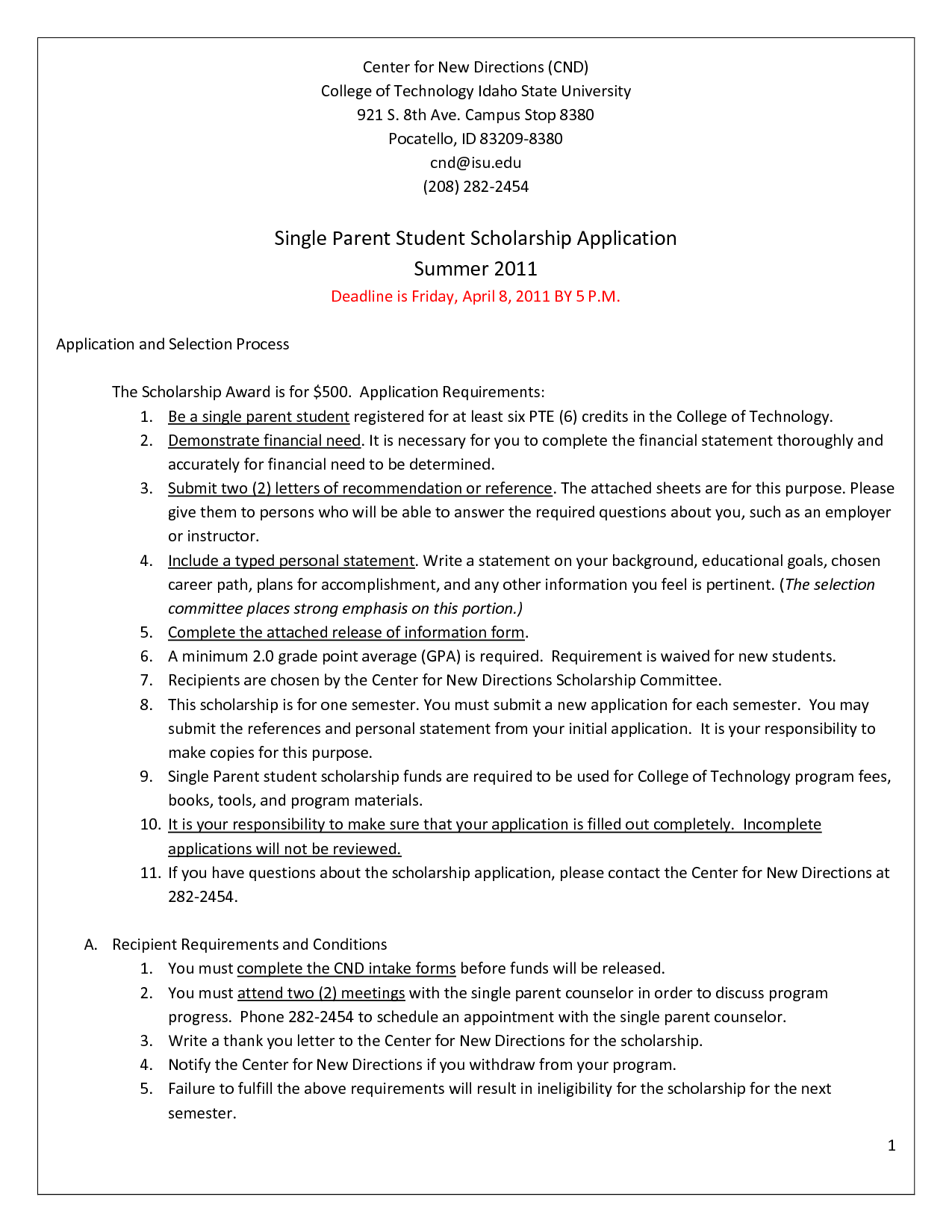 Recommendation Letter Sample For Scholarship Application Cover University