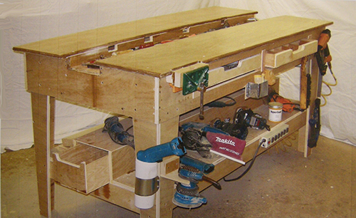 The New Generation Workbench Plans Mobile Bench Drawer System In