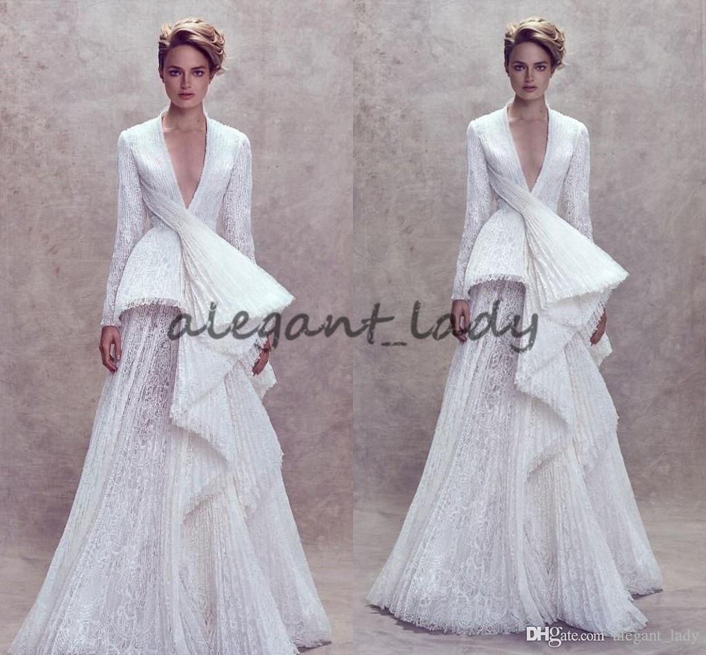 2018 Ashi Studio Long Sleeve evening dresses Plus Size Custom Make ...