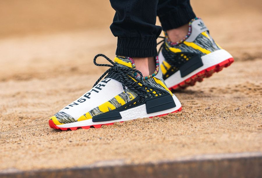 Pharrell Williams x Adidas NMD HU Solarhu Impower & Inspire