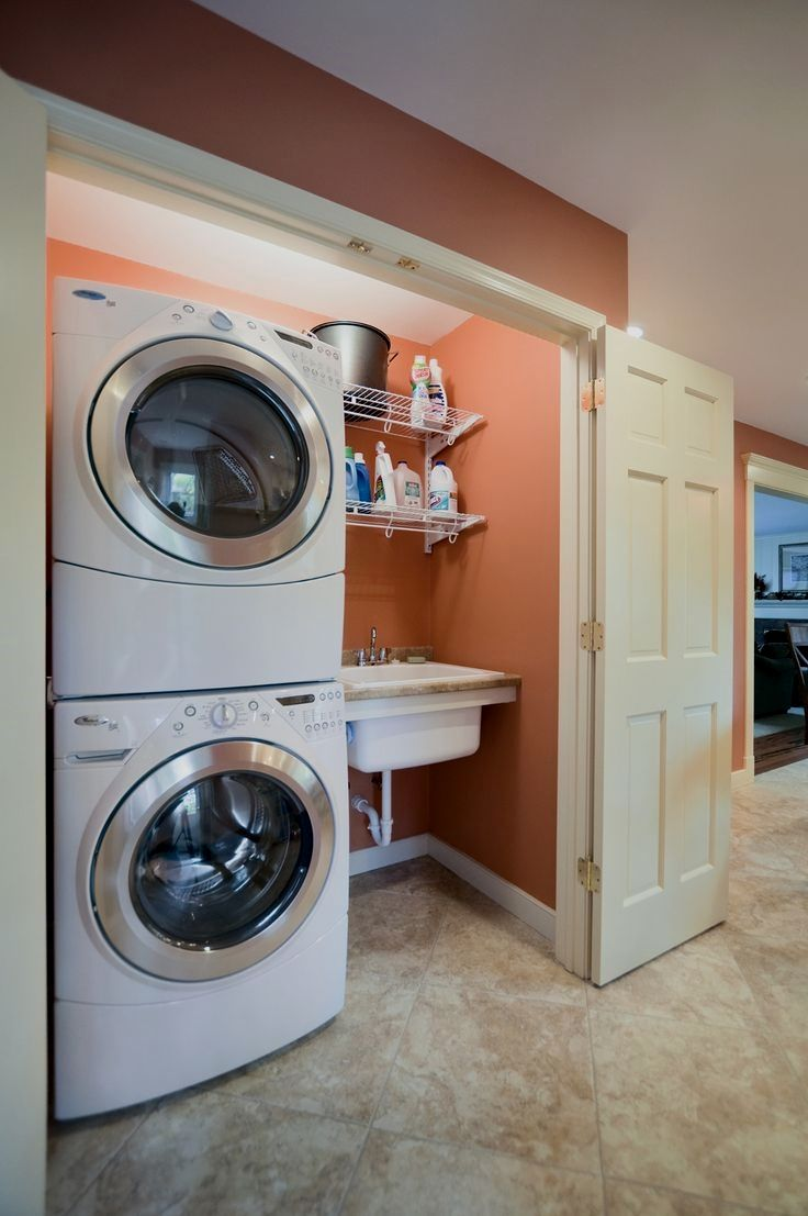 First Washer Closet Garage Custom Craft Contractors Saved To