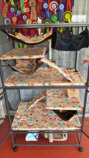 Custom Made Double Critter Or Ferret Nation Cage Liners Rat Ferret Chinchilla Cage Not Included By Com Ferret Nation Cage Critter Nation Cage Rat Hammock