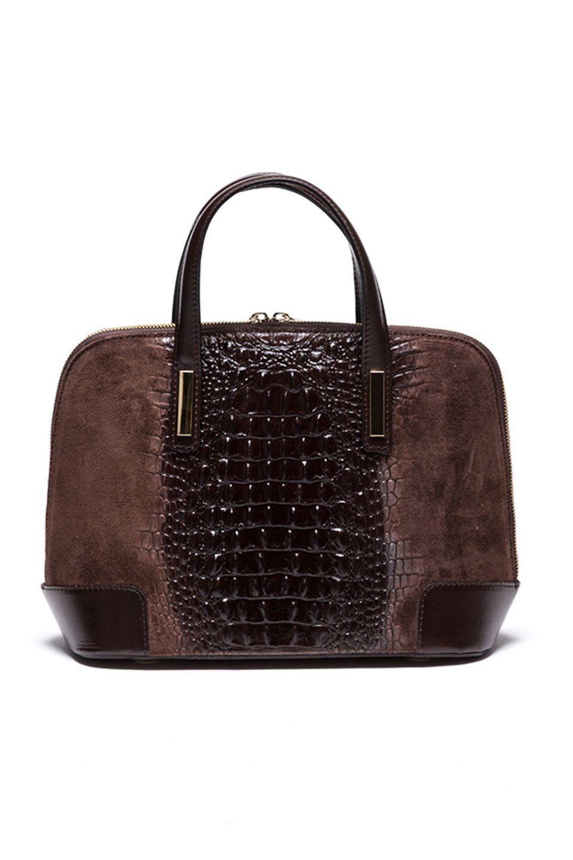 Mangotti Bagnoregio Handbag In Brown Beyond The Rack