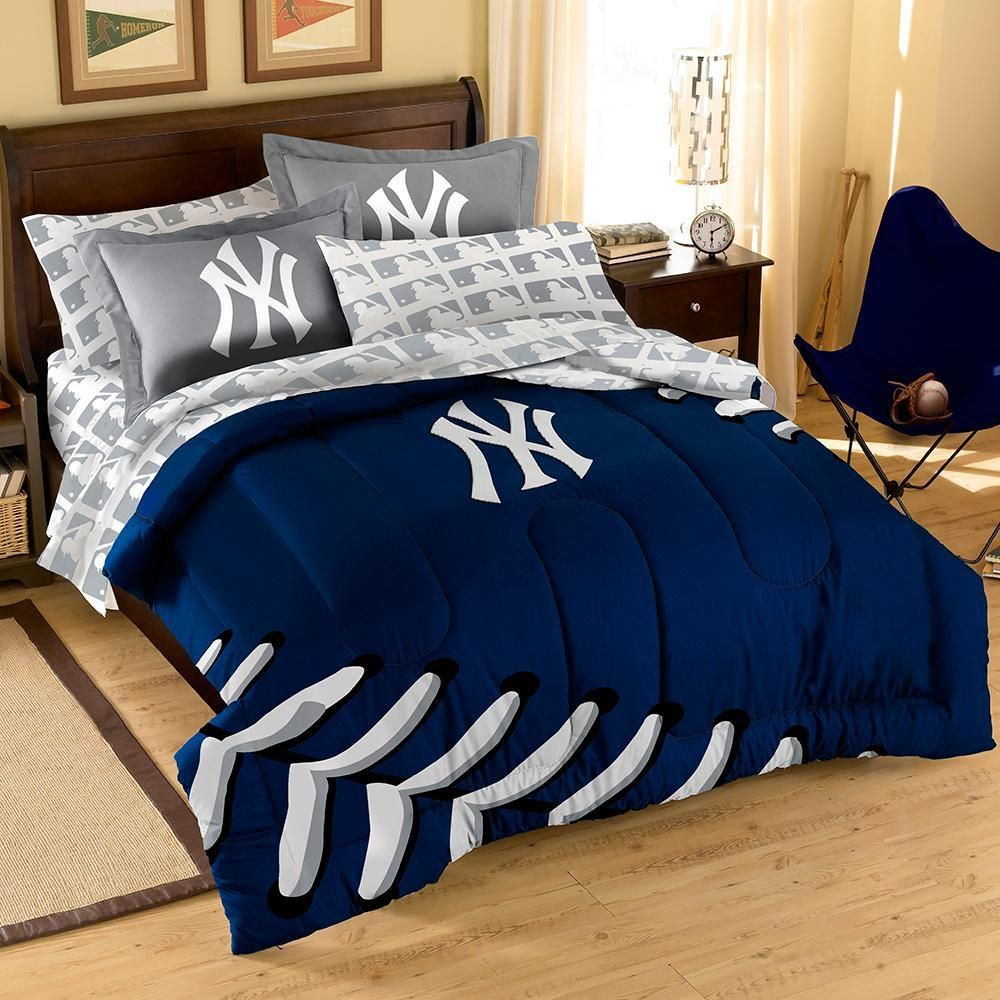 New York Yankees MLB Bed in a Bag (Contrast Series)(Full ...
