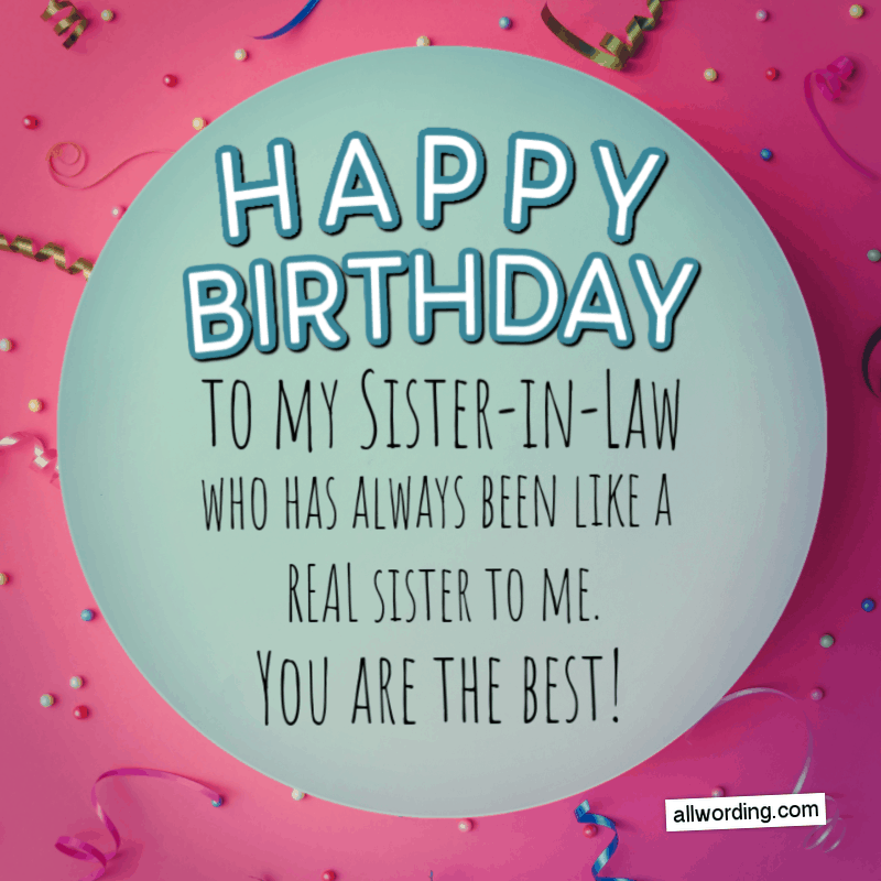 How to Say Happy Birthday to Your SisterinLaw in 2020