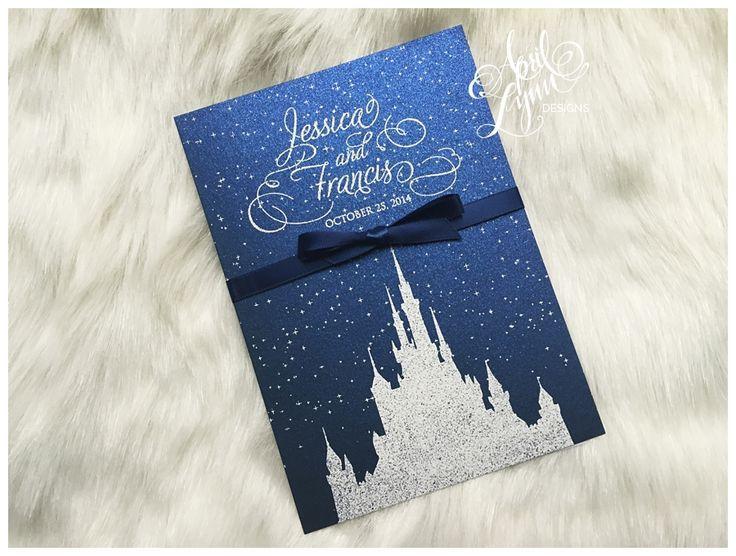 Disney Wedding Invitations Buy This Card Get 15 Off With Code Stuckonuzazz Disney Wedding Invitations Disney Invitations Disney Wedding Theme