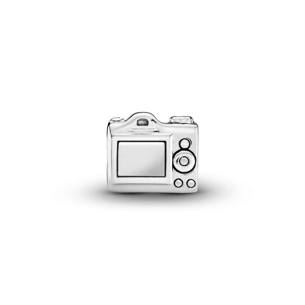 pandora charm macchina fotografica