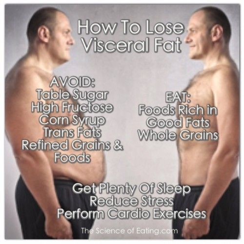 what can reduce visceral fat
