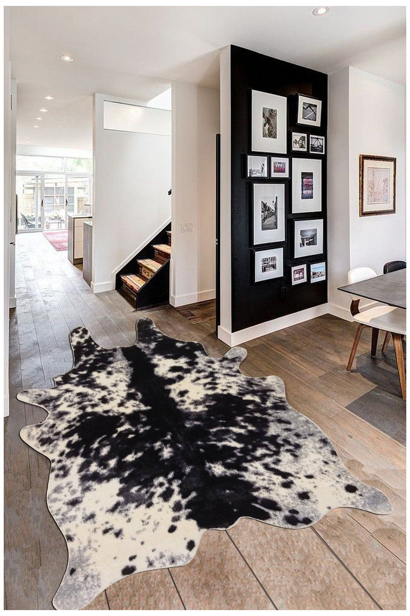 Faux Cowhide Rug Black And White Black And White Cowhide Rug Blackandwhitecowhiderug Faux Black And White In 2020 White Cowhide Rug Faux Cowhide Rug Cow Hide Rug