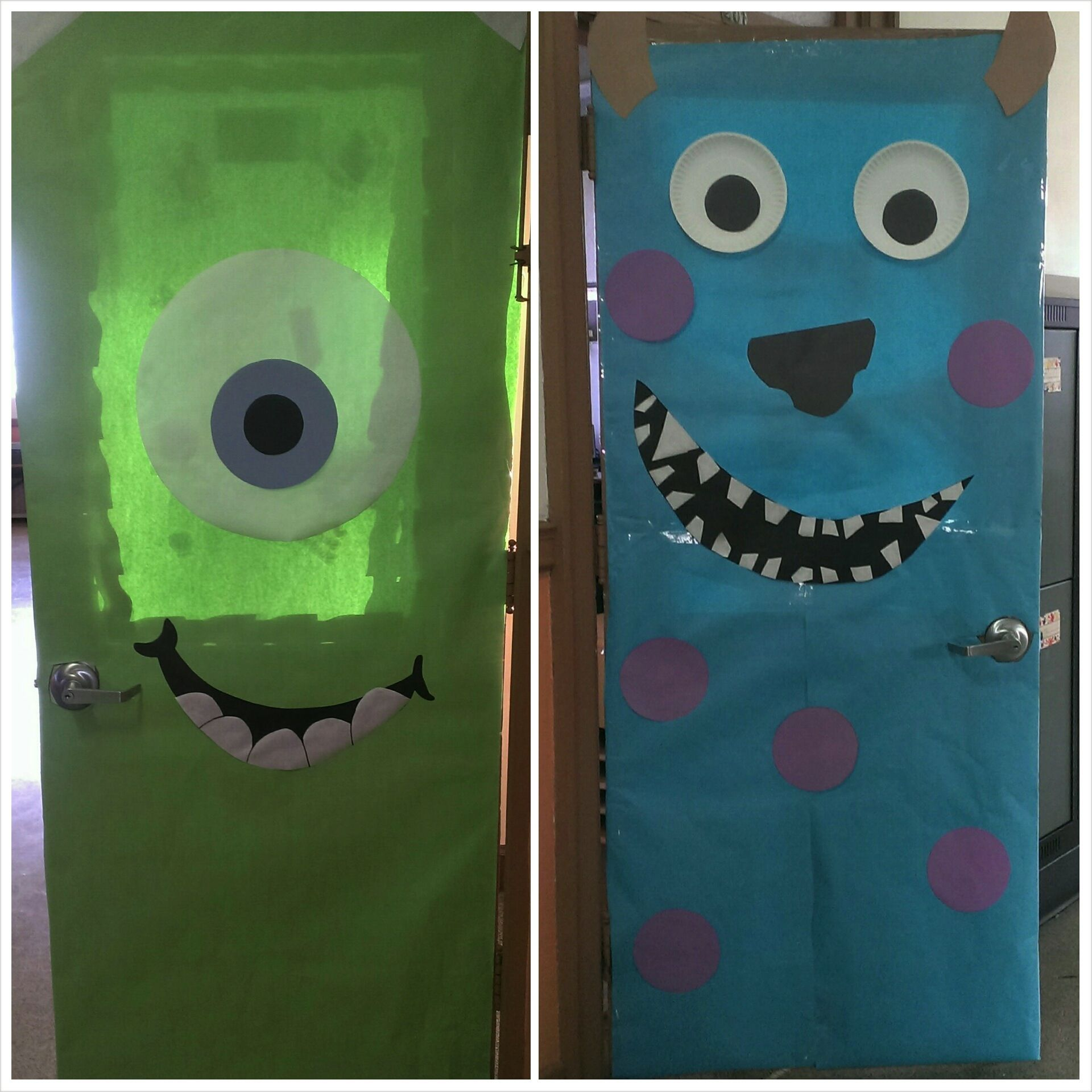 Monster Classroom Decor : Monsters inc classroom doors door decorating