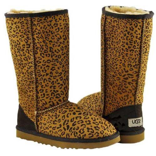 ugg boots leopard