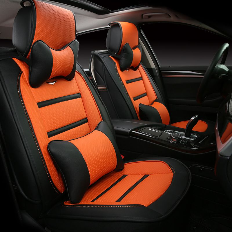 New 3d Sport Car Seat Cover General Cushion Senior Leather Car