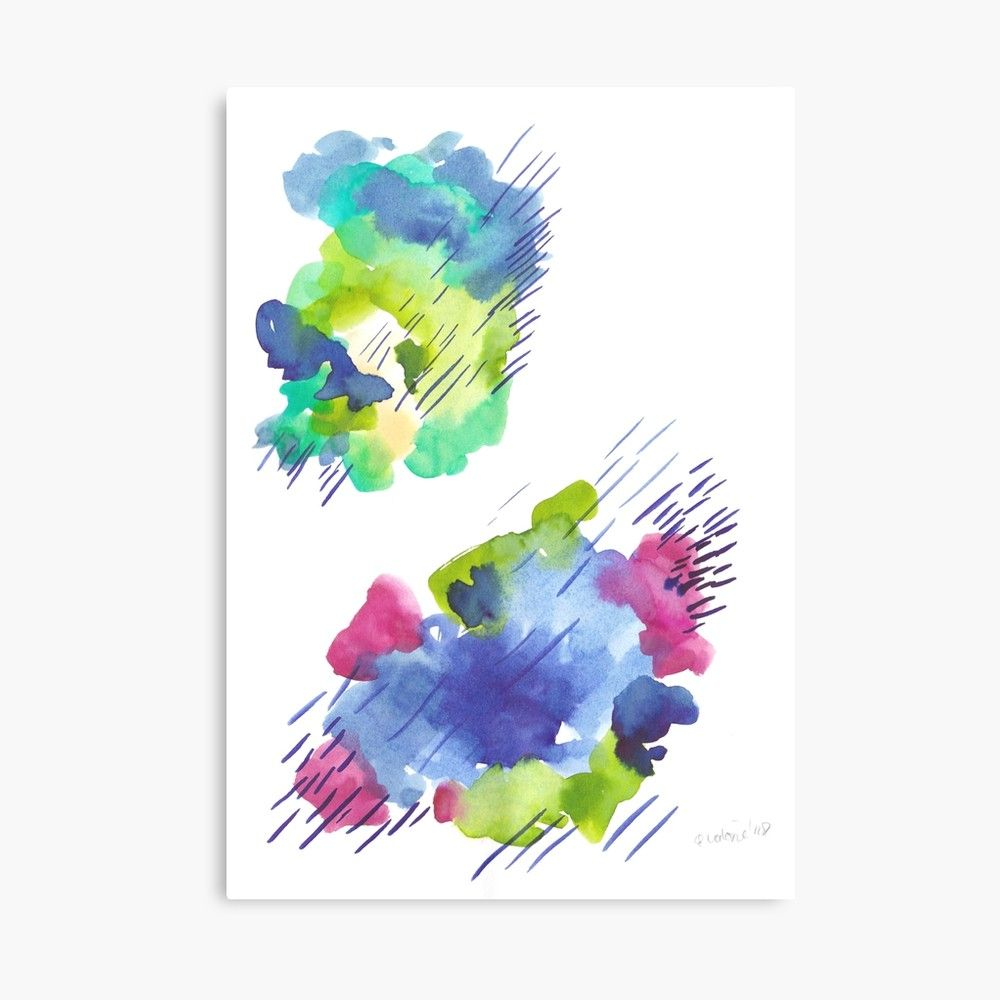 Kmart Canvas Printing 180802 Beautiful Rejection 14 Watercolour Abstract Art Prints