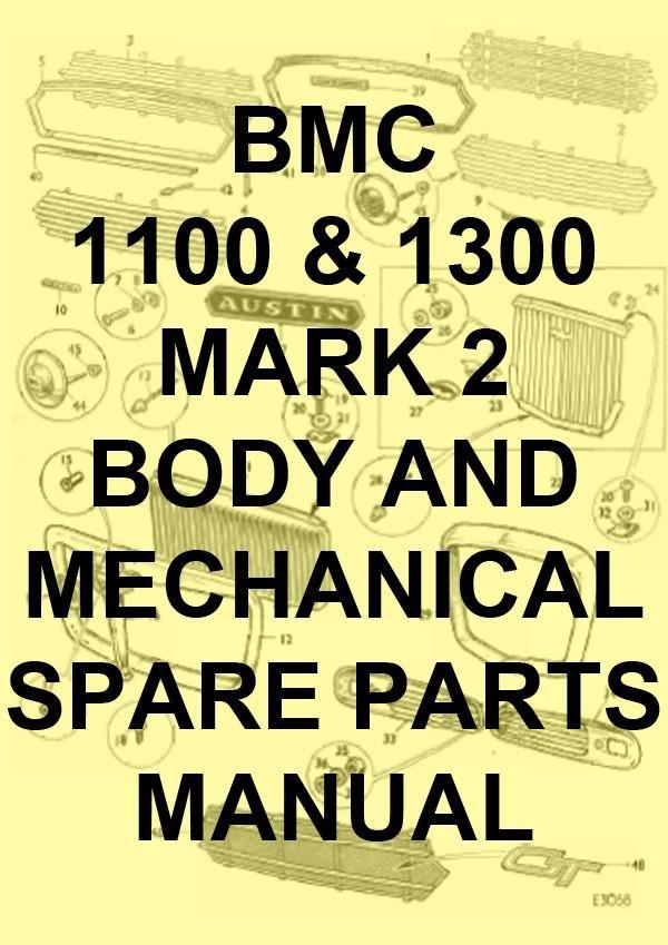Array - bmc 1100  u0026 1300 mark 2 spare parts manual   carmanualsdirect      rh   pinterest com