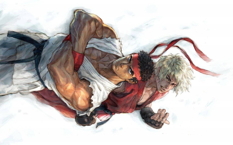 street fighter ryu artwork ken wallpaper - (#20430) - high quality