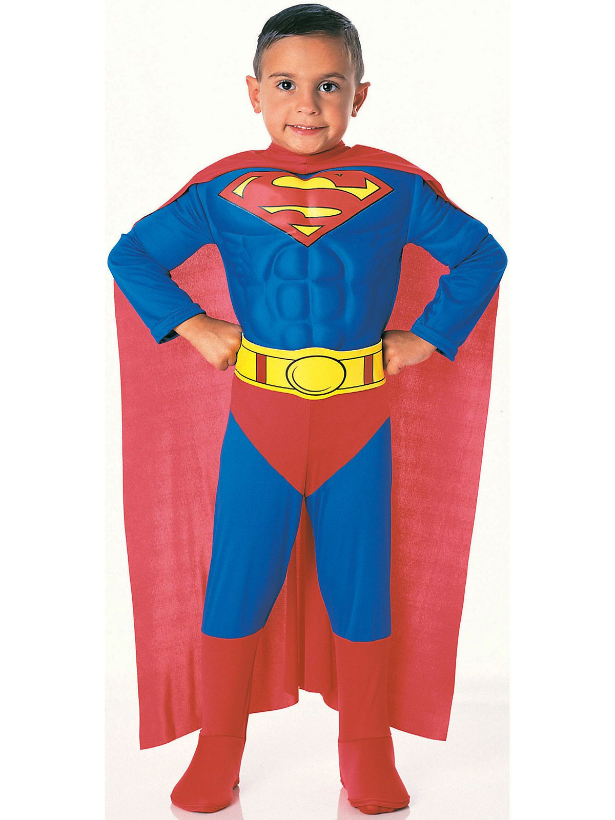4c9e6b94ed82 Deluxe Baby Muscle Superman Costume - Infant & Toddler Superman Costumes