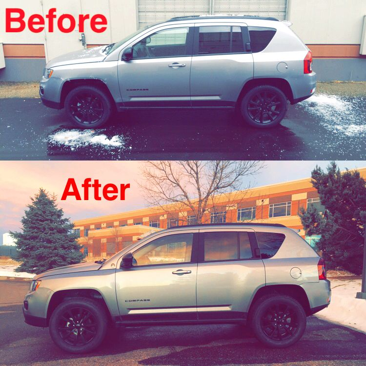 Jeep Compass With Rocky Road Lift Jeep Compass Accessories Jeep Compass Lifted Jeep