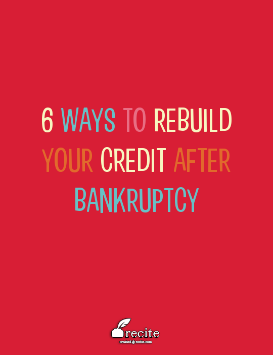 How To Make The Most If Your Clean Slate After Bankrupcy A Great Article On How To Use Your Credit Cards To Credit Repair Rebuilding Credit How To Fix Credit