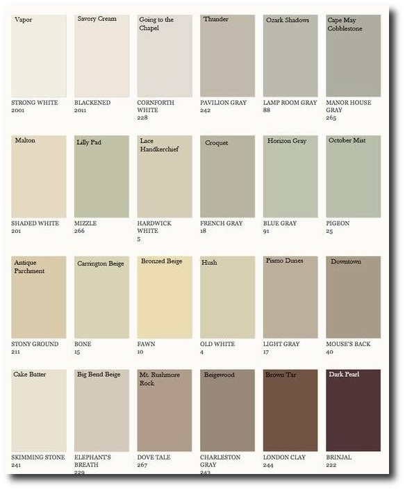 Farrow Ball Colors Matched To Benjamin Moore Benjamin Moore Pinterest Farrow Ball