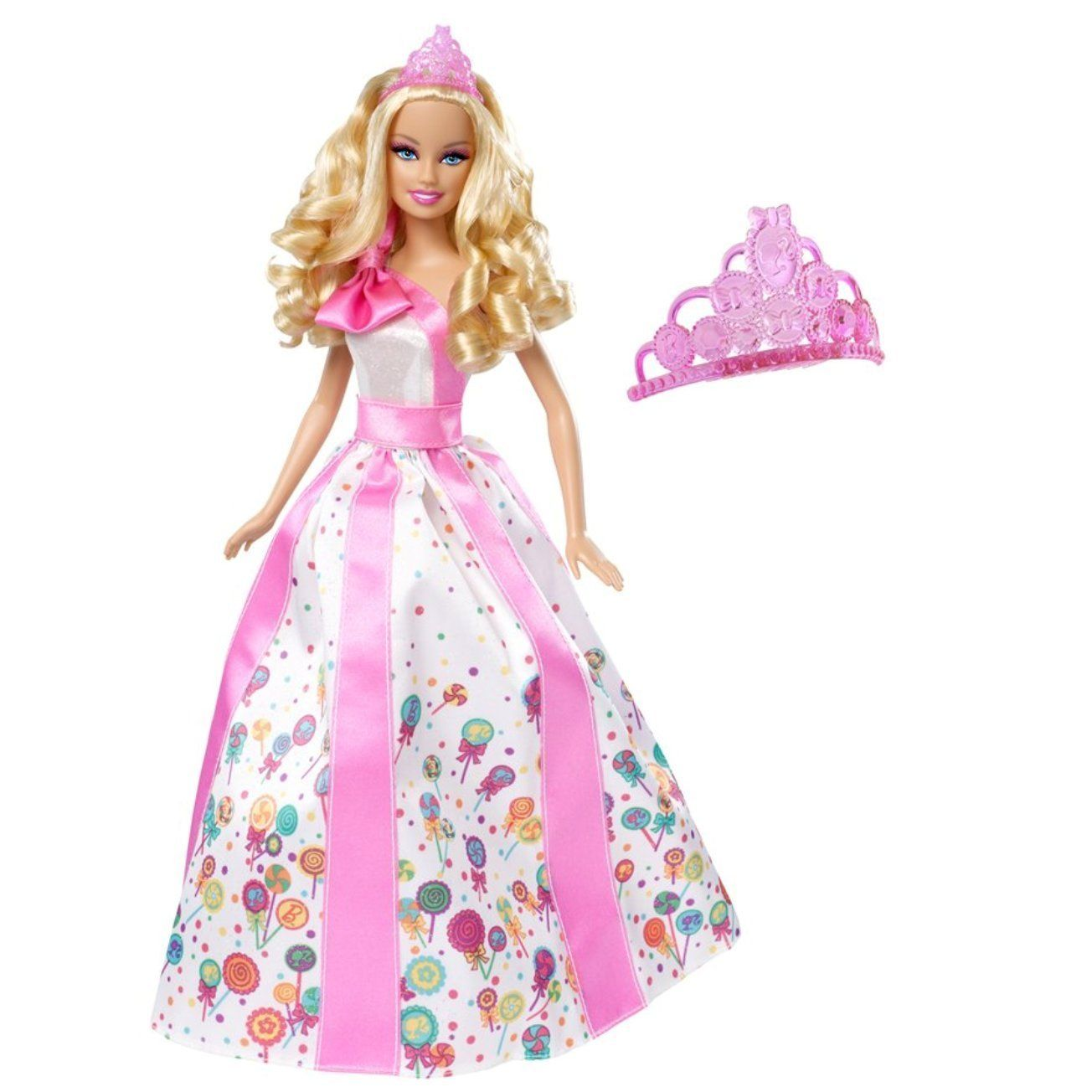 Barbie Princess Happy Birthday Doll 2010