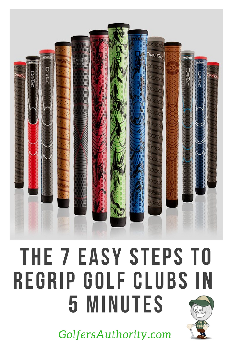 How To Regrip Golf Clubs In Less Than 5 Minutes Infographic Golf Clubs Golf Golf Diy