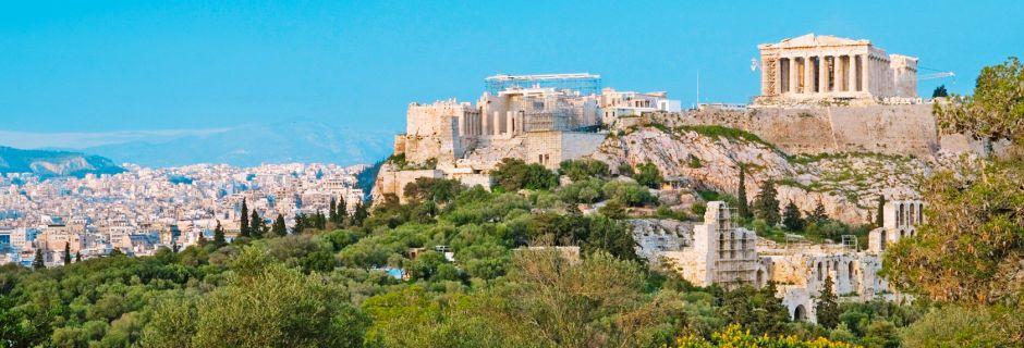 Akropolis' karakteristiske silhuett