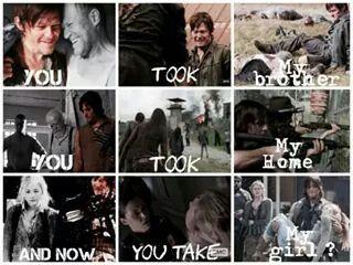 So sad..Poor Daryl
