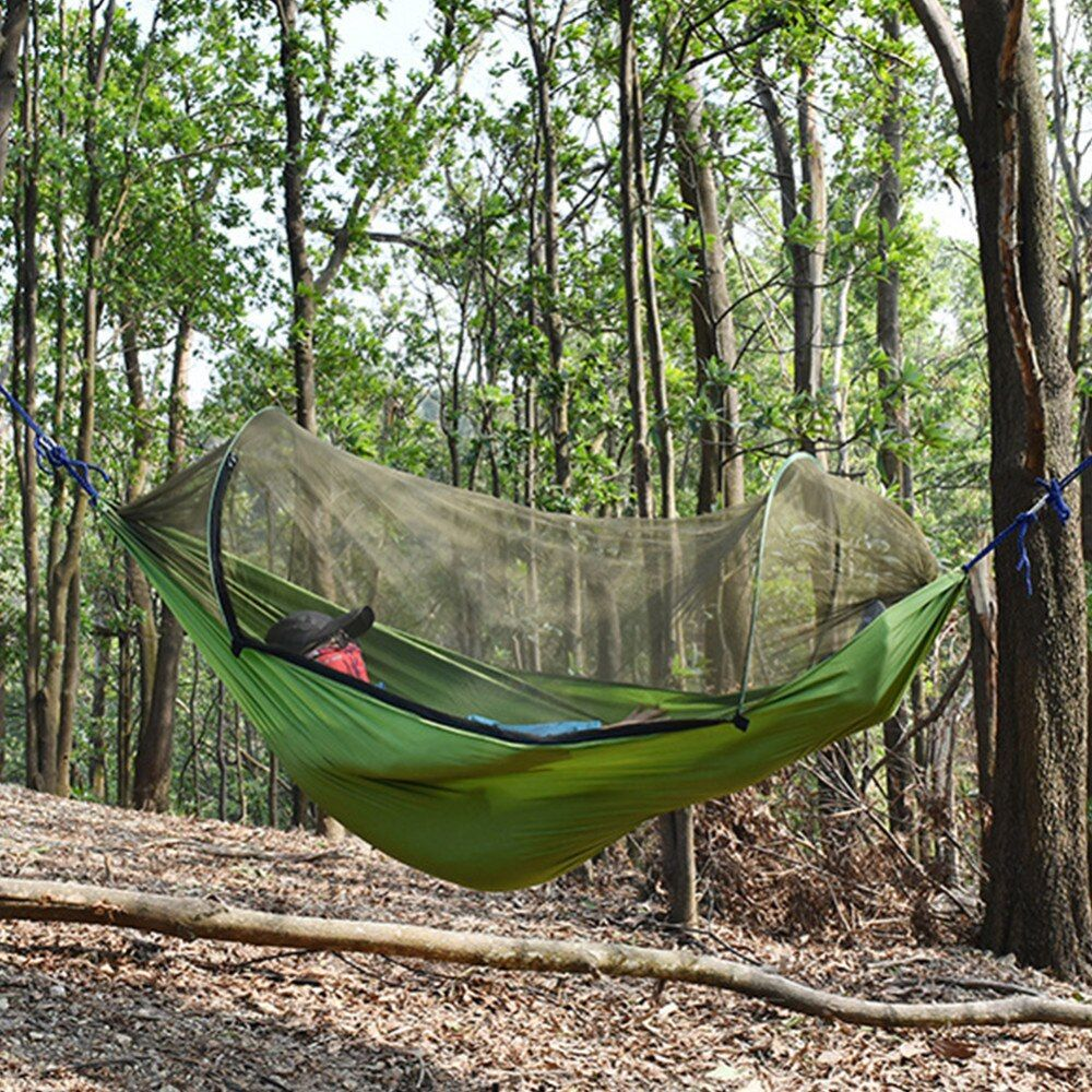 Outdoor Mosquito Net Parachute Hammock Tent Portable