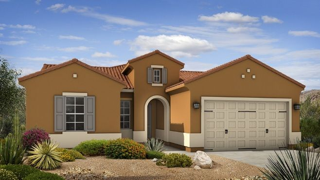 Envision coming #home to the beautiful Hillary at Belmonte in #Chandler. The Hillary features 3 bedrooms, 2.5 baths and a 3-car garage. #newhome #homedesign #dreamhome #dreamhouse #